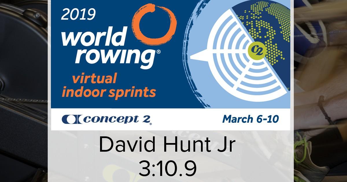 Concept2 Logbook | World Rowing Indoor Sprints 2019 Men's